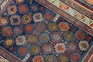Antique Caucasian Shirvan Kuba Kazak Rug Size 3'5''x5'