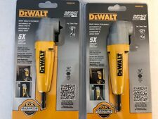 (2-Pack) Dewalt Dwara100 Right Angle Attachment New in Package