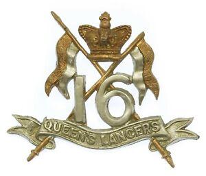 Victorian 16th Queen's Lancers Cap Badge #29