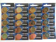 RENATA  CR2032 Lithium Baterry 3Volt   20Pcs