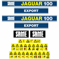 SAME JAGUAR 100  tractor decal aufkleber adesivo sticker set