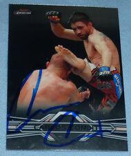 Carlos Condit Signed 2013 UFC Topps Finest Card 38 PSA/DNA COA Autograph 154 143
