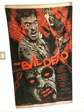 The Evil Dead Classic Horror Movie Poster Flag Banner Fabric Wall Tapestry