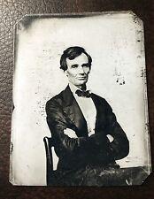 Abraham Lincoln President Civil War Military tintype C137RP