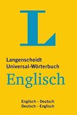 Langenscheidt Universal Wörterbuch Englisch - Englisch-Deutsch/Deutsch-Englisch