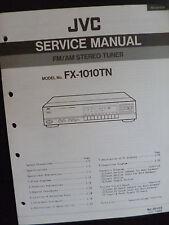 Original Service Manual  JVC FX-1010TN