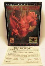 Ral Partha, The Great Red Dragon  1992 - OOP - 01-503 - #2551 of  5300 Castings