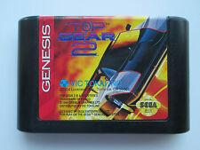 Top Gear 2 (Sega Genesis, 1994) Game Only--Tested (VIC TOKAI) NTSC-US-CA