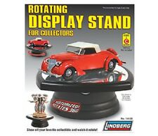 LINDBERG ROTATING DISPLAY STAND WITH MIRROR BASE FOR 1/32 SCALE CARS 14105