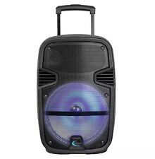 "Technical Pro PB1400LED 12"" Rechargeable Bluetooth Active Speaker w LED Effect"
