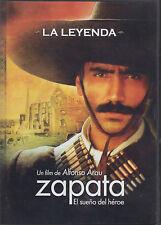 DVD Zapata NEW El Sueno De Un Heroe ALFONZO ARAU Alejandro Fernandez SEALED !!