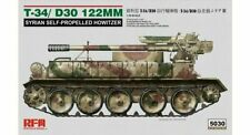 Rye Field 1/35 T-34/D30 122mm Syrian Self-Propelled Howitzer #5030 *New Rel.*