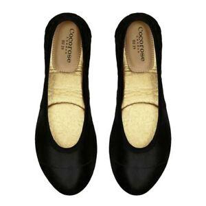 Cocorose Foldable Shoes - Barbican - Black Shimmer
