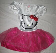 New Hello Kitty Costume Dress Rubies Juniors Size S Small Sanrio Tulle Sparkle