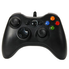New Wired Xbox 360 USB Remote Controller for PC Windows Computer Black CA