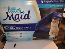 Litter Maid Multi-Cat Self-Cleaning Litter Box Automatic brilliant machine New