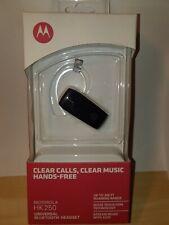 New Sealed Motorola Hk250 Black Universal Bluetooth Headsets