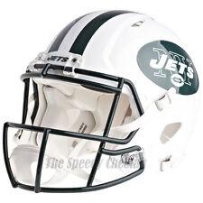 NEW YORK JETS RIDDELL NFL FULL SIZE AUTHENTIC SPEED FOOTBALL HELMET