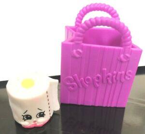 Shopkins Season 2 Moose Toys #2-095 White Leafy Toilet Paper Figure w/ Mini Tote
