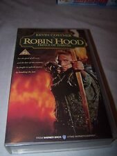 Kevin Costner in Robin Hood Prince of thieves VHS Video