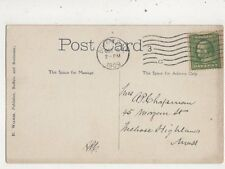 Miss AP Chapman Morgan Street Melrose Highlands Massachusetts USA 1909  955a