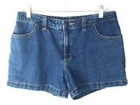 "Bobbie Brooks Women's Blue Jean Shorts Size 8 (Waist 33"") 100% Cotton *I"