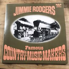 Jimmie Rodgers - Famous Country-Music Makers (2xLP, Comp)