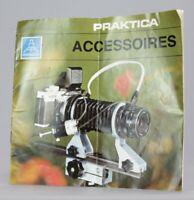Praktica Pentacon Accessoires Guide  Photo Photographie Argentique (Réf#R-149)