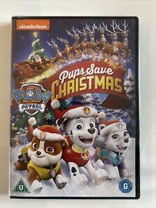 Paw Patrol: Pups Save Christmas NEW SEALED DVD