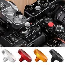 4x Neu Metal Shutter Release Button Concave For Fuji Film Rolleiflex Hasselblad