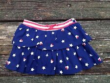 NWT Disney Girls Minnie Mouse Stars Skirt Size 18 Months Navy/White/Red