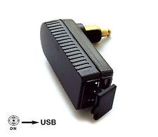 CARICA BATTERIA mini DIN USCITA USB TABLET CELLULARI NAVIGATORE GPS per MOTO BMW