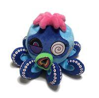 Takashi Murakami Kaikai Kiki Octopus Plush Doll Cushion L Mr. Boiled Blue New