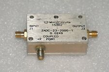 Mini-Circuits COUPLER ZADC-23-2000-1 SMA TYPE
