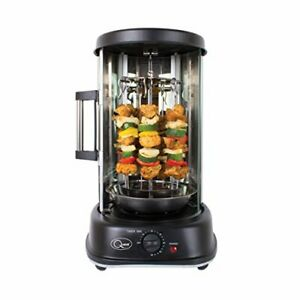 Quest 34020 Electric Rotisserie Grill / Cooks Kebabs, Skewers and Roasts BBQ