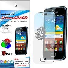 4 Pellicola Opaca Per Samsung Galaxy Ace Plus S7500 Antiriflesso Antimpronta