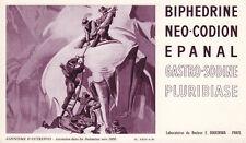 Buvard  Biphédrine  Alpinisme d'autrefois Pl. XXIV