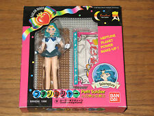 Bandai Super Sailor Moon Sailor Neptune Petit Soldier Figure Mib Rare