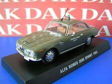 Die cast 1/43 Modellino Auto Polizia Police Alfa Romeo 2600 Sprint 1964
