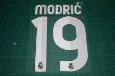 Real Madrid 12/13 #19 MODRIC Awaykit / 3rd Awaykit Nameset Printing