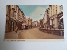 PENZANCE Market Jew Street With Shop Fronts (43441) Unposted   §A2626