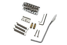 Puente Tremolo Stratocaster Wilkinson WVC  -  Chrome Strat Tremolo Bridge