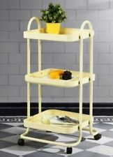Furniture R - Taite Beige Kitchen Trolley Model 5443