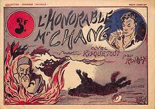"""RISQUETOUT PAR RODALY """" l' honorable Mr Chang """"  REVUE JEUNESSE 1942"""