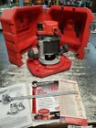 MILWAUKEE HEAVY DUTY ROUTER 5615-20 11 Amp & CASE 2 COLLETS WRENCHES TOOL TOOLS