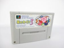 Super Famicom STAR KIRBY 3 Nintendo Cartridge Only sfc