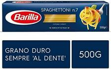 Barilla Durum wheat Pasta  Spaghettoni No.7 500gr (1 pack)