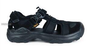 Teva Omnium Suede Black Sport Sandals Mens Size 12 *NIB*