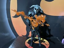 DC Multiverse Ares Figure Collect and Connect BAF Flaming swords Mint New Mint!!