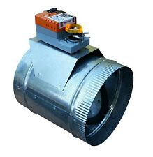 "HVAC Zone Damper (Round 16"") Professional Grade/ Heavy Duty - USA Made, 24VAC"